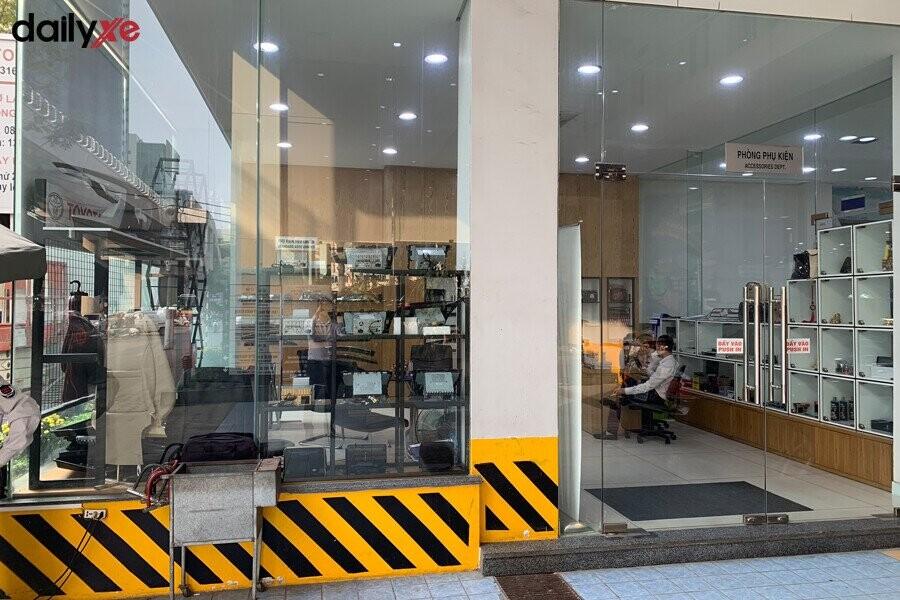 Phòng phụ kiện Toyota Thăng Long