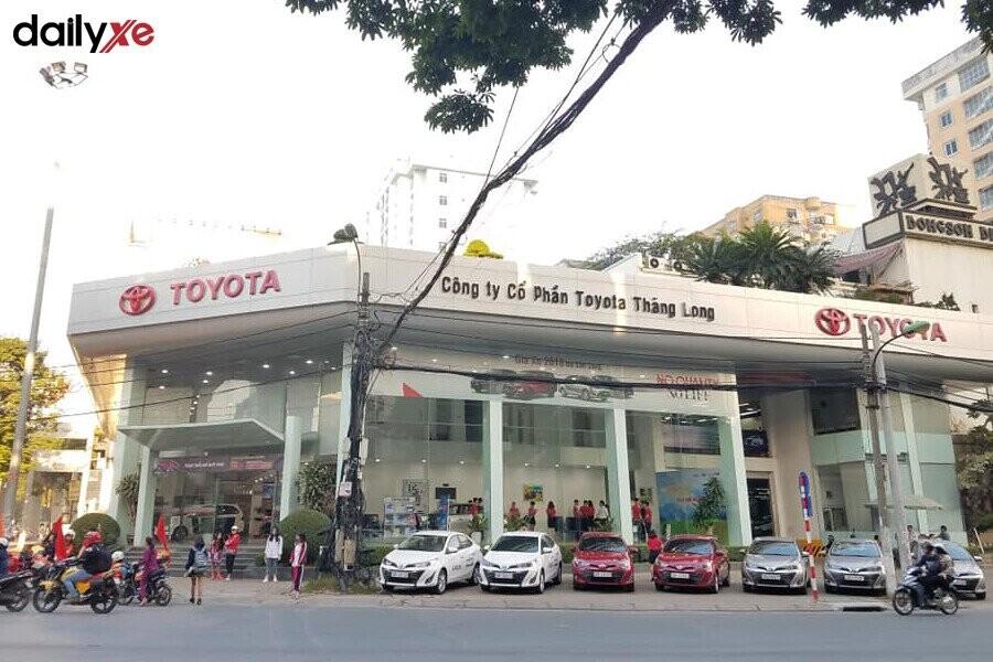 Showroom Toyota Thăng Long