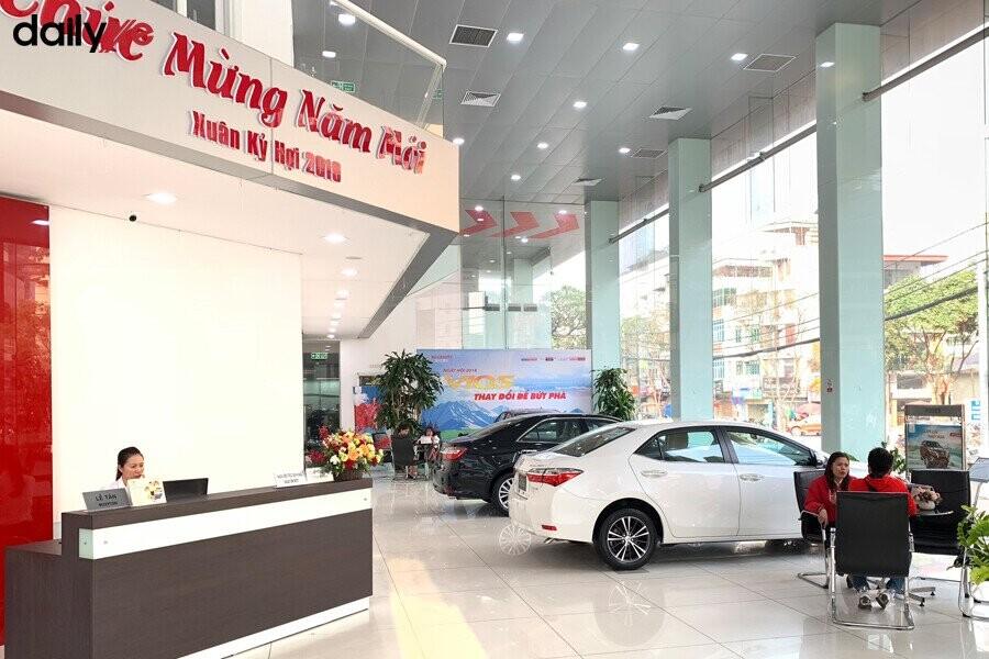 Phòng trưng bày xe Toyota Thăng Long - Hình 1