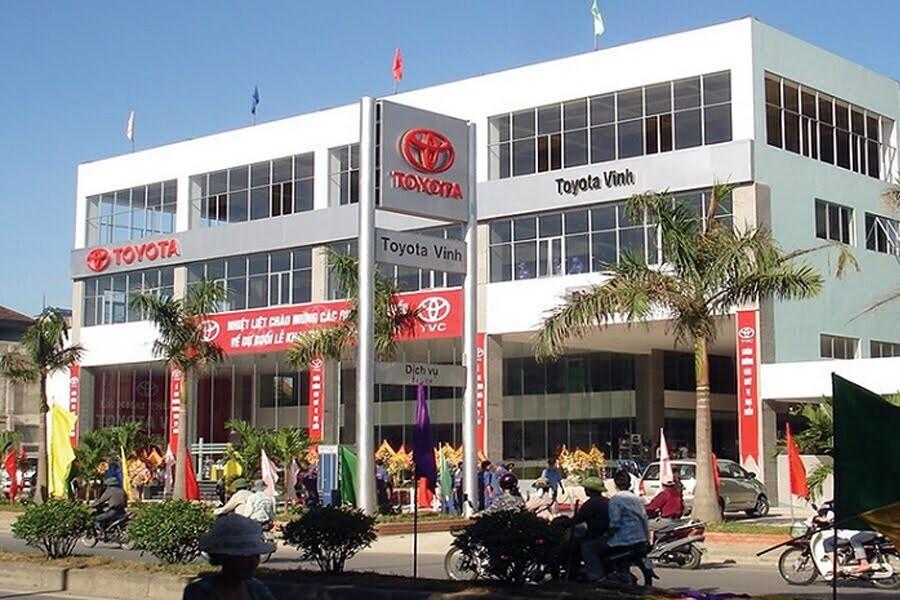 Đại Lý Toyota Vinh Đường Quang Trung Nghệ An - Hình 1