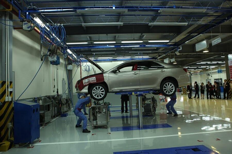 Đại Lý Toyota Vinh Đường Quang Trung Nghệ An - Hình 2