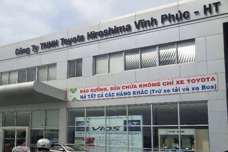 Đại Lý Toyota Vĩnh Phúc Huyện Bình Xuyên Vĩnh Phúc - Hình 1