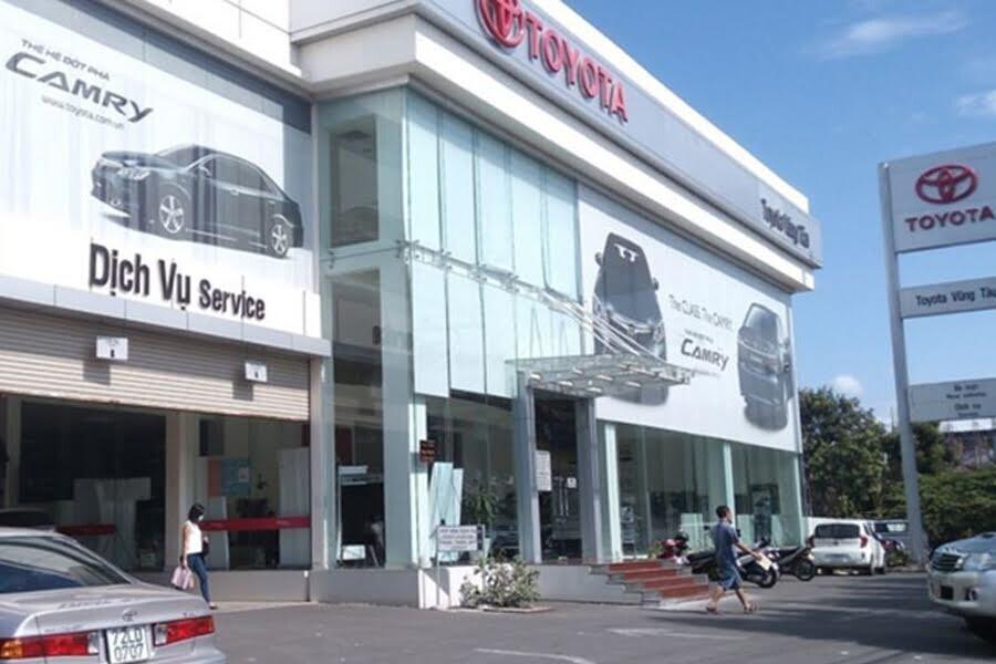 Đại Lý Toyota Vũng Tàu Phường 10 TP Bà Rịa Vũng Tàu - Hình 1