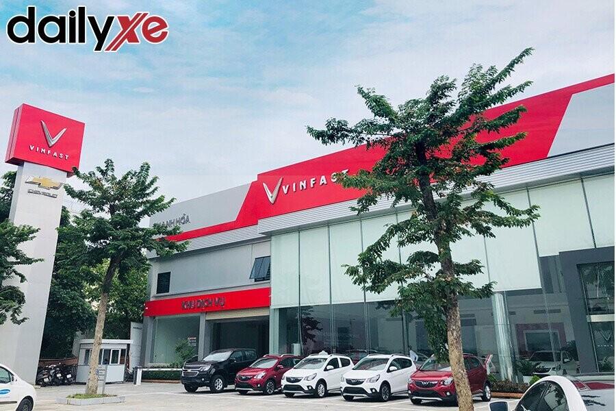 Mặt Tiền Showroom VinFast Thanh Hóa - Hình 3