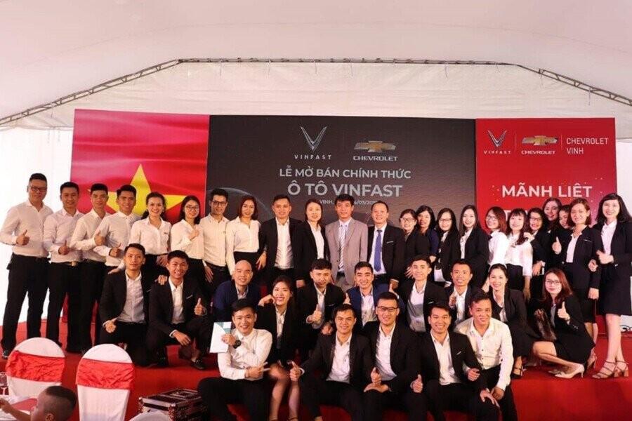Vinfast Nghệ An chính thức mở bán 3 dòng xe Vinfast