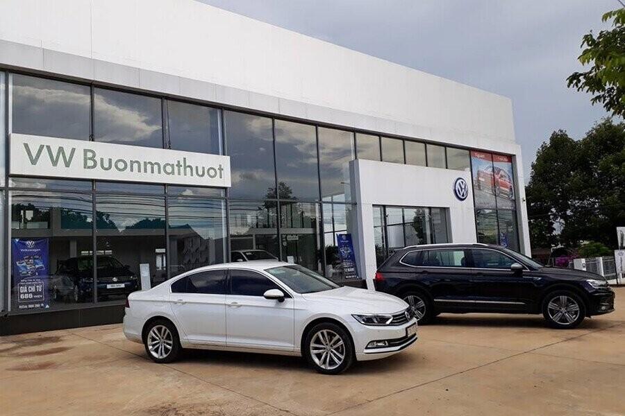 Mặt tiền Showroom Volkswagen Buôn Ma Thuột