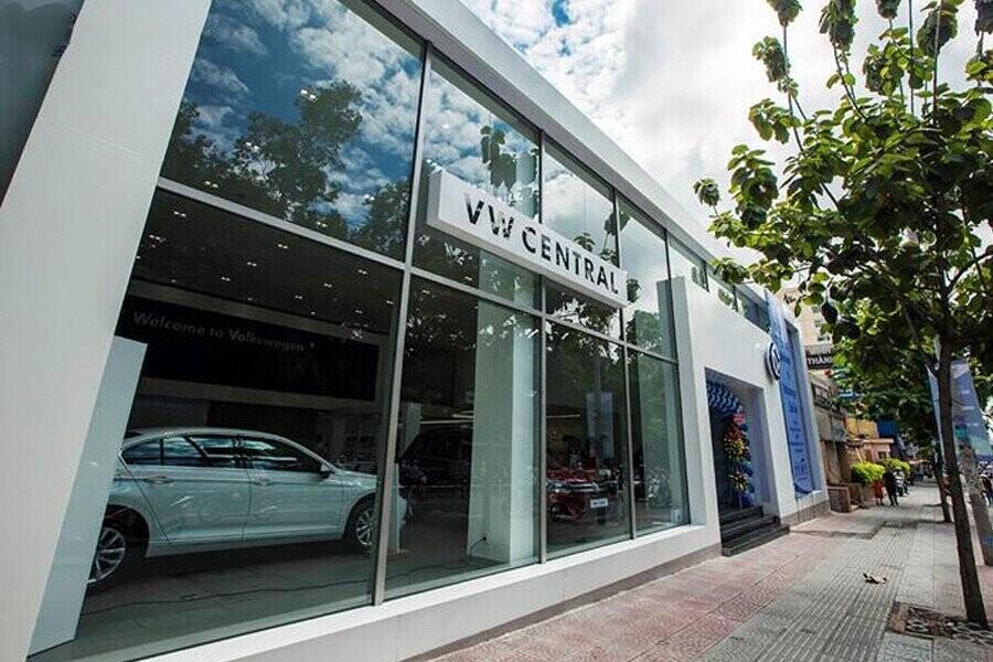 Mặt tiền Showroom Volkswagen Central