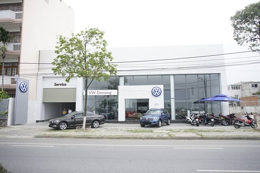 Mặt tiền Showroom Volkswagen Đà Nẵng