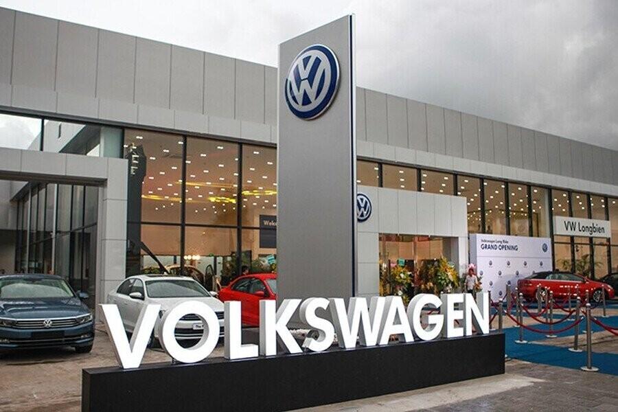 Mặt tiền Showroom Volkswagen Long Biên