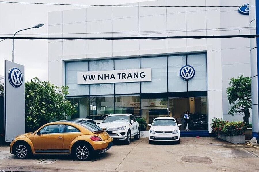 Mặt tiền Showroom Volkswagen Nha Trang