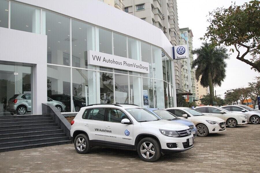 Mặt tiền Showroom Volkswagen Phạm Văn Đồng