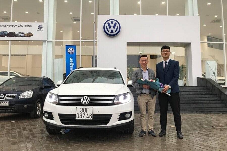Lễ bàn giao xe Volkswagen cho Khách hàng