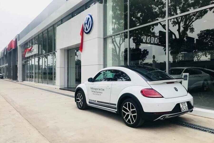Mặt tiền Showroom Volkswagen Sài Gòn
