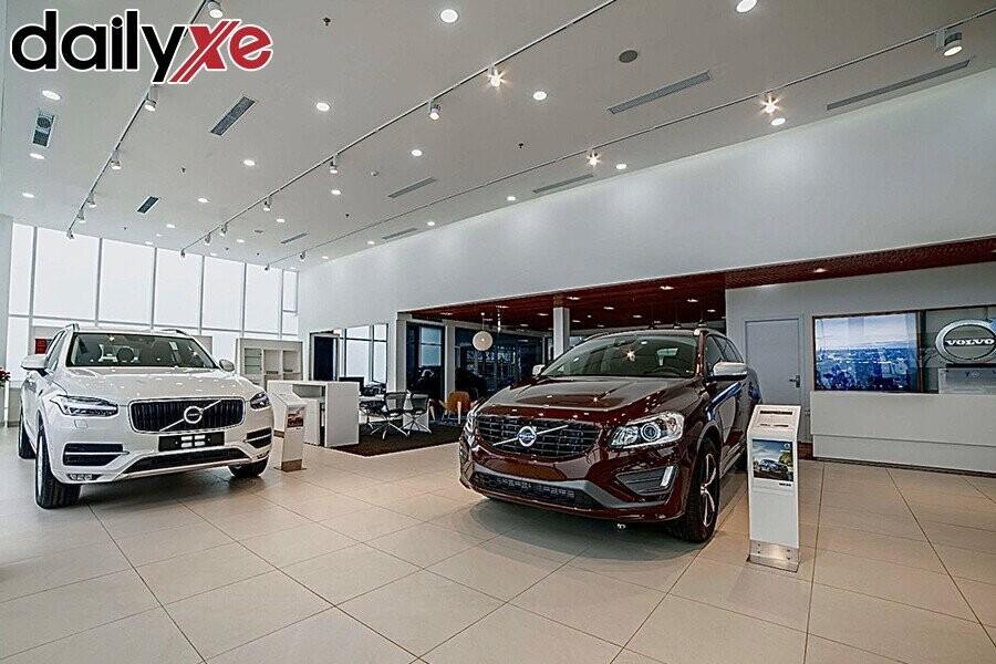Các Dòng Xe Volvo Trưng Bày Tại Showroom