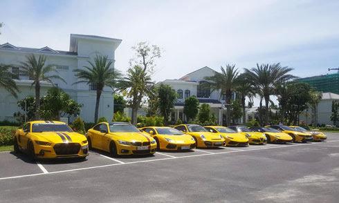 Dàn siêu xe trăm tỷ của đại gia Việt khuấy động miền Trung - Hình 1