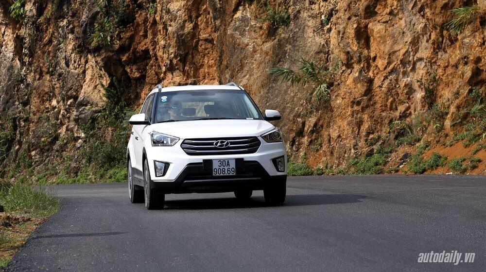 Đánh giá ban đầu về Hyundai Creta 1.6L máy dầu - Hình 1