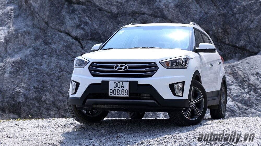 Đánh giá ban đầu về Hyundai Creta 1.6L máy dầu - Hình 2