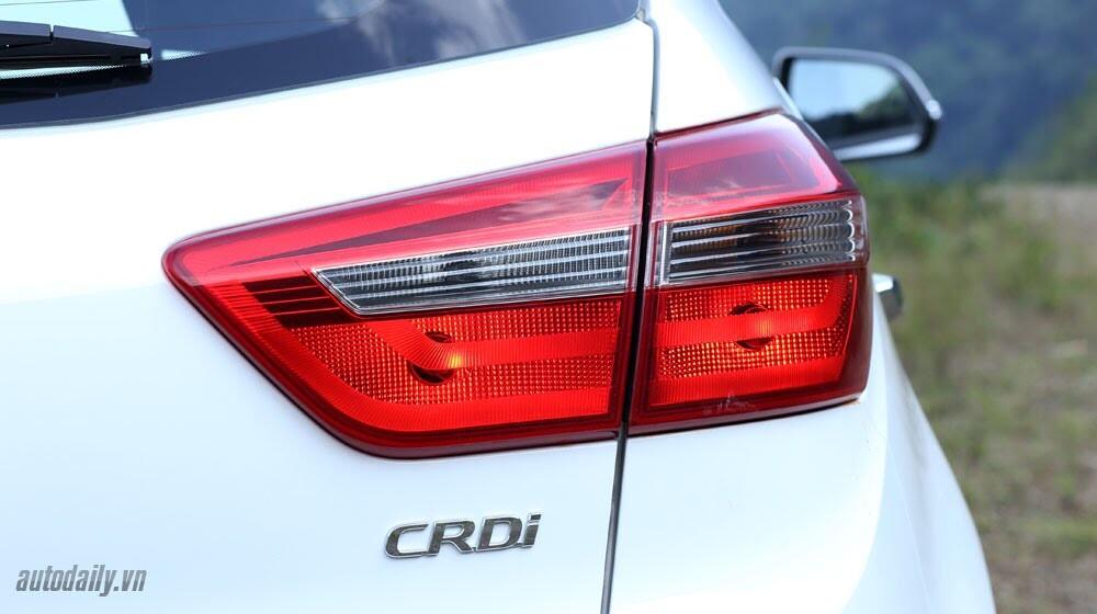 Đánh giá ban đầu về Hyundai Creta 1.6L máy dầu - Hình 3