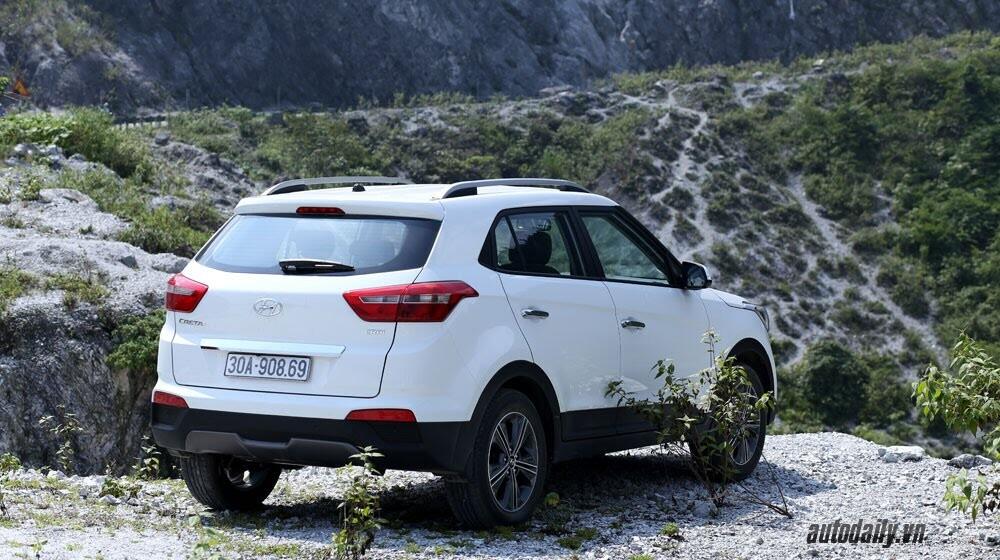 Đánh giá ban đầu về Hyundai Creta 1.6L máy dầu - Hình 6