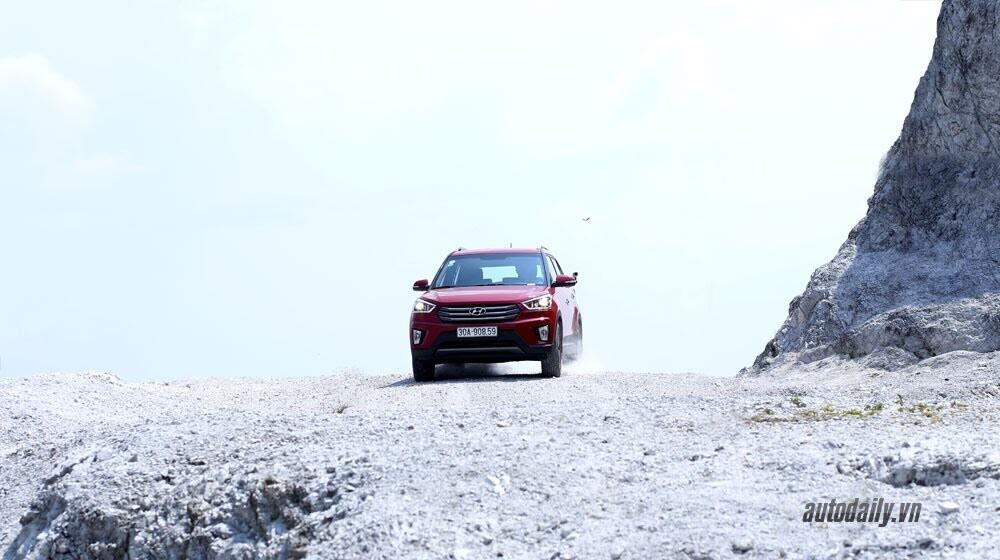Đánh giá ban đầu về Hyundai Creta 1.6L máy dầu - Hình 13