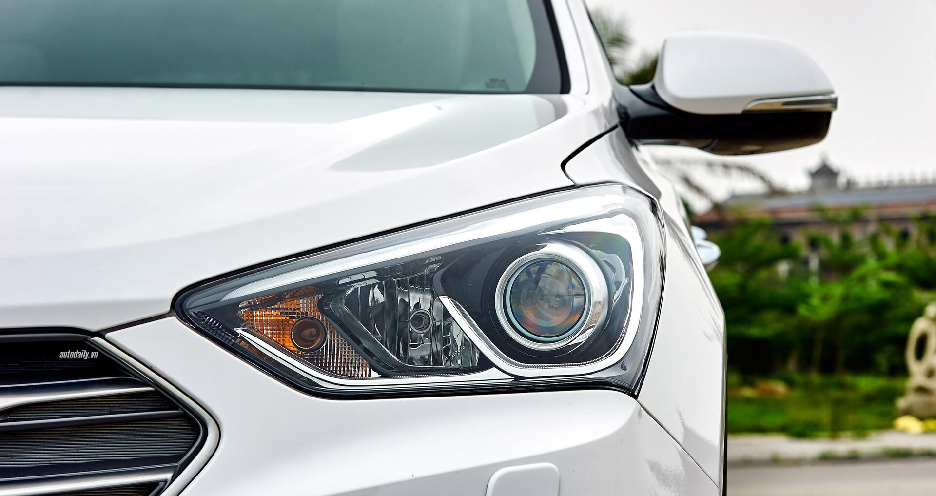Đánh giá ban đầu về Hyundai SantaFe 2016 phiên bản máy dầu - Hình 3