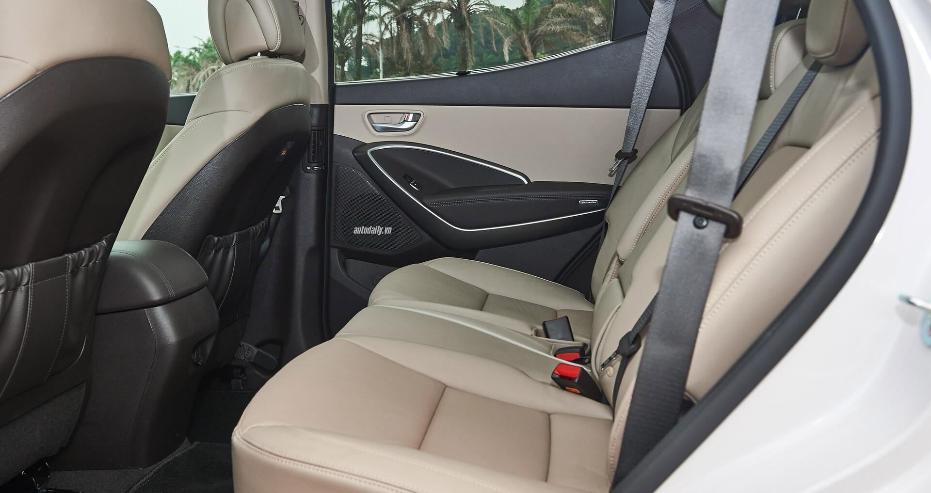 Đánh giá ban đầu về Hyundai SantaFe 2016 phiên bản máy dầu - Hình 8