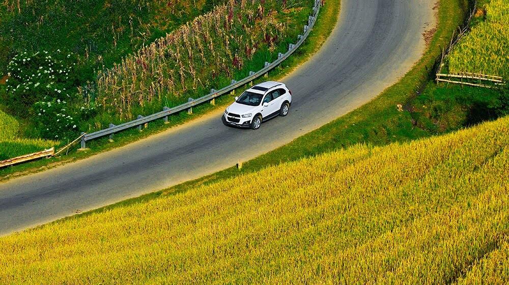 Đánh giá Chevrolet Captiva LTZ 2014 qua hành trình 1000km - Hình 10