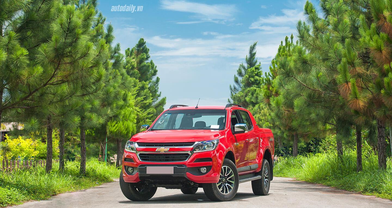 Đánh giá Chevrolet Colorado HighCountry 2017: Nâng cấp đáng giá - Hình 1