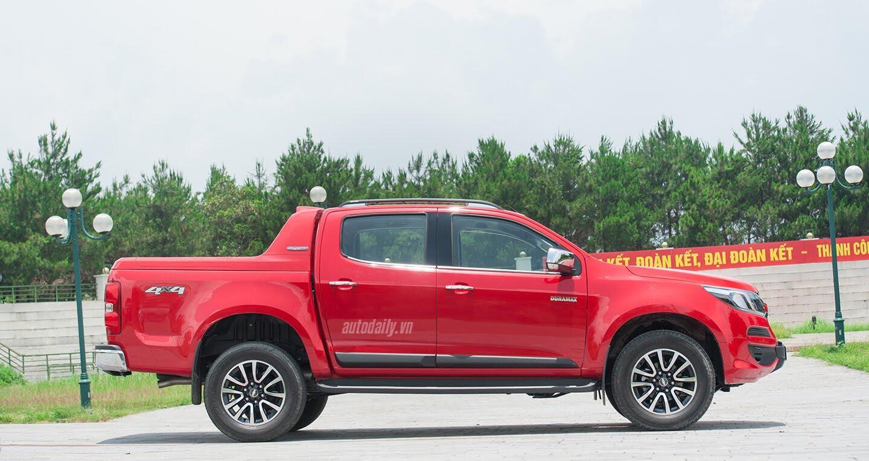 Đánh giá Chevrolet Colorado HighCountry 2017: Nâng cấp đáng giá - Hình 5
