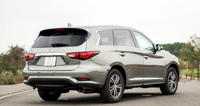 Đánh giá chi tiết Infiniti QX60: SUV hạng sang 7 chỗ đến từ Nhật Bản - Hình 3