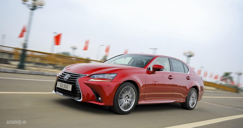 Đánh giá Lexus GS 350 2016 – Thể thao và