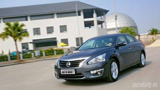 Đánh giá Nissan Teana 2.5SL 2013 - Lựa chọn hấp dẫn - Hình 18