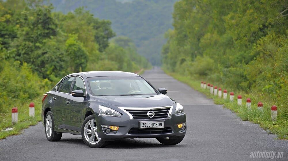 Đánh giá Nissan Teana 2.5SL qua hành trình 300km - Hình 1