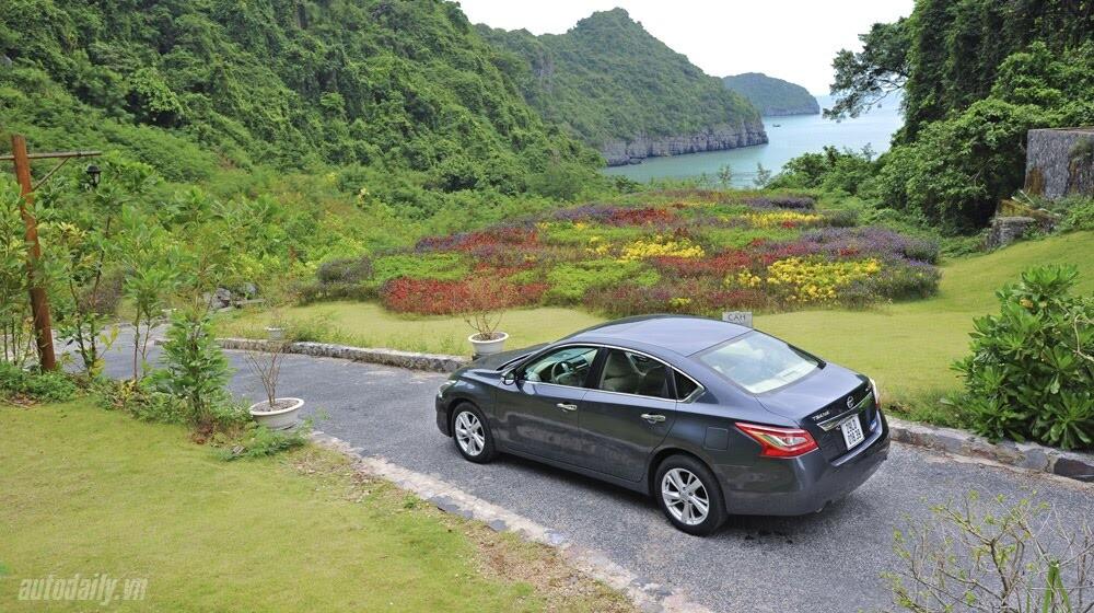 Đánh giá Nissan Teana 2.5SL qua hành trình 300km - Hình 8