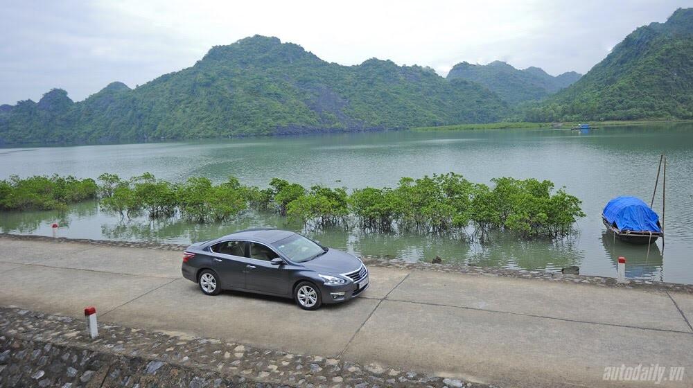 Đánh giá Nissan Teana 2.5SL qua hành trình 300km - Hình 11