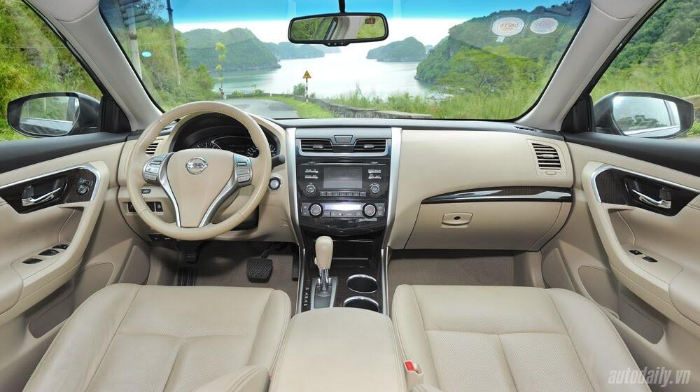 Đánh giá Nissan Teana 2.5SL qua hành trình 300km - Hình 12