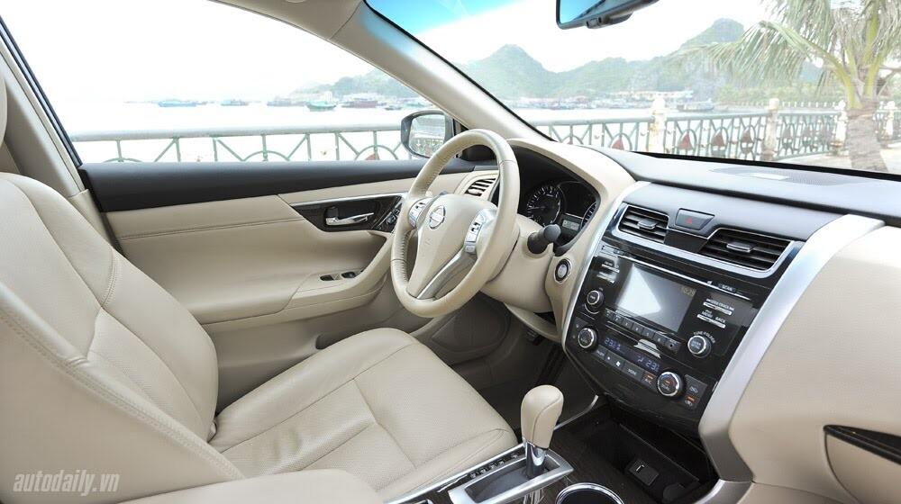Đánh giá Nissan Teana 2.5SL qua hành trình 300km - Hình 15