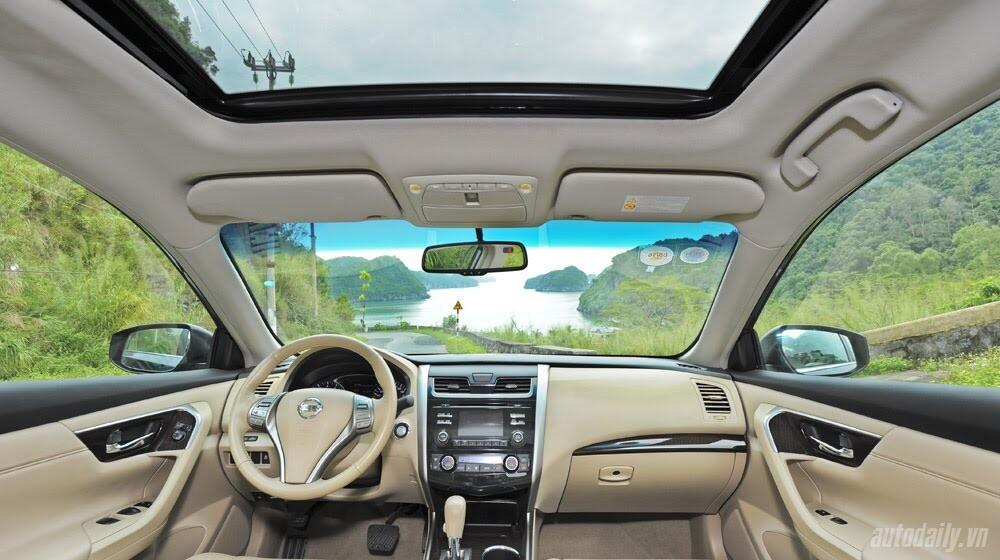 Đánh giá Nissan Teana 2.5SL qua hành trình 300km - Hình 21