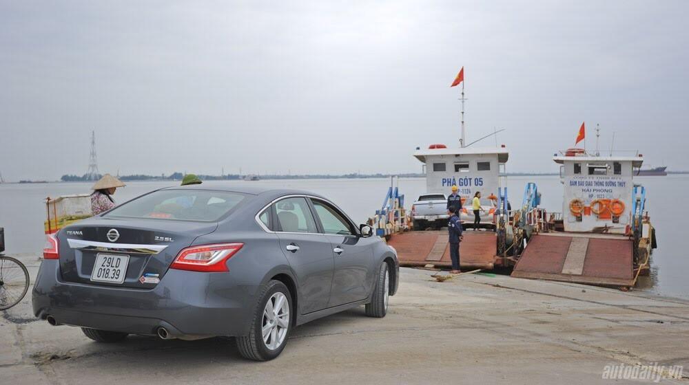 Đánh giá Nissan Teana 2.5SL qua hành trình 300km - Hình 28
