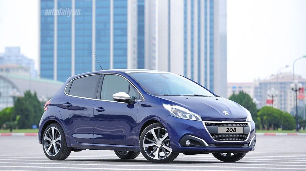 """Đánh giá Peugeot 208 – """"Xế"""" nhỏ đẳng cấp châu Âu - Hình 1"""