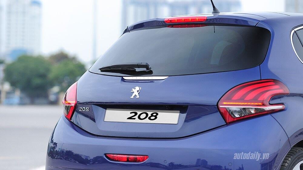 """Đánh giá Peugeot 208 – """"Xế"""" nhỏ đẳng cấp châu Âu - Hình 5"""
