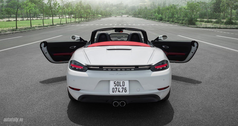 Đánh giá Porsche 718 Boxster: Kẻ dẫn dắt cuộc chơi - Hình 4