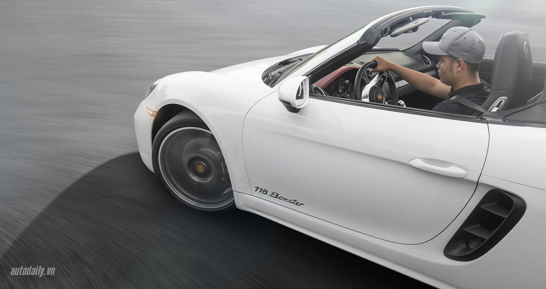 Đánh giá Porsche 718 Boxster: Kẻ dẫn dắt cuộc chơi - Hình 6
