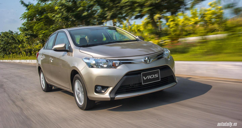 Đánh giá Toyota Vios 2016: Ấn tượng từ hộp số và cảm giác lái - Hình 1