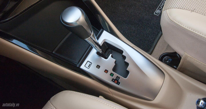 Đánh giá Toyota Vios 2016: Ấn tượng từ hộp số và cảm giác lái - Hình 3