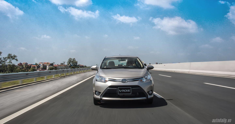 Đánh giá Toyota Vios 2016: Ấn tượng từ hộp số và cảm giác lái - Hình 5