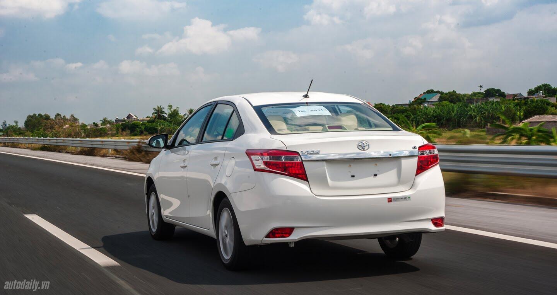 Đánh giá Toyota Vios 2016: Ấn tượng từ hộp số và cảm giác lái - Hình 7