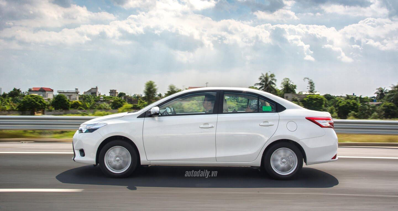 Đánh giá Toyota Vios 2016: Ấn tượng từ hộp số và cảm giác lái - Hình 8