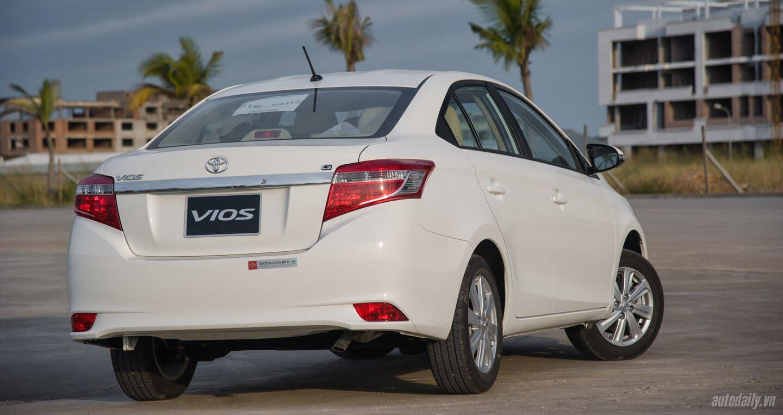 Đánh giá Toyota Vios 2016: Ấn tượng từ hộp số và cảm giác lái - Hình 12
