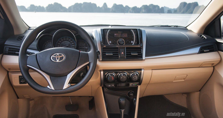 Đánh giá Toyota Vios 2016: Ấn tượng từ hộp số và cảm giác lái - Hình 14